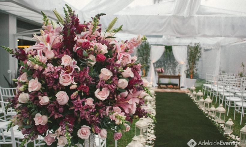 Adelaide Eventos – Decoração de Casamento – Eveline e Carlos Eduardo