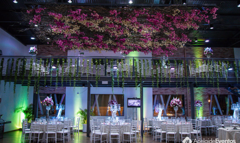Adelaide Eventos – Fernanda e Eduardo – Decoração de Casamento